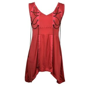 Vintage Rocawear Hip Hop Club Dress with Chains Sm
